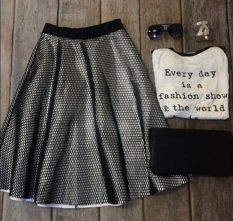 Silver Lining Skirt | SexyModest Boutique #smbfaves