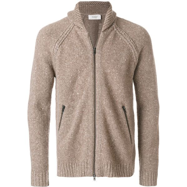 Pringle Of Scotland zipped speckle cardigan (3.365 BRL) ❤ liked on Polyvore featuring men's fashion, men's clothing, men's sweaters, mens zipper sweater, mens zip sweater, mens cardigan sweaters and mens zip cardigan sweater