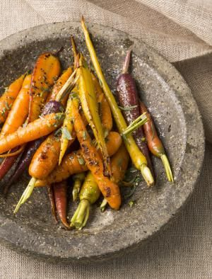 Our Updated Family Recipe for Glazed Carrots with Cinnamon.: Gorgeous glazed carrots.