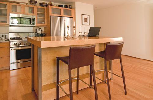Modern Mobile Kitchen Island