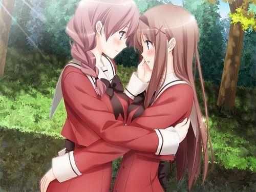 Sono Hanabira ni Kuchizuke wo  Kaede x Sara