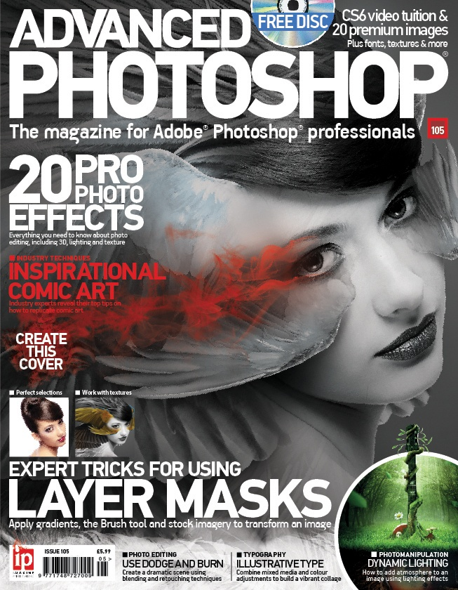 How to Create a Magazine Cover in Photoshop - YouTube