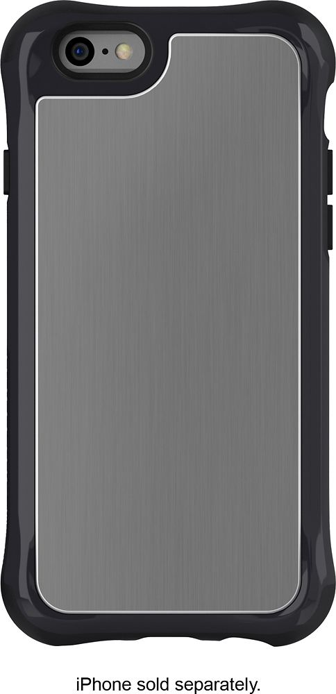 Ballistic - Tungsten Slim Case for Apple® iPhone® 6 Plus - Gray/Black, SL1432-B00Y
