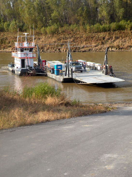 Mississippi River Ferries Caruthersville Mo Ferry Crossing