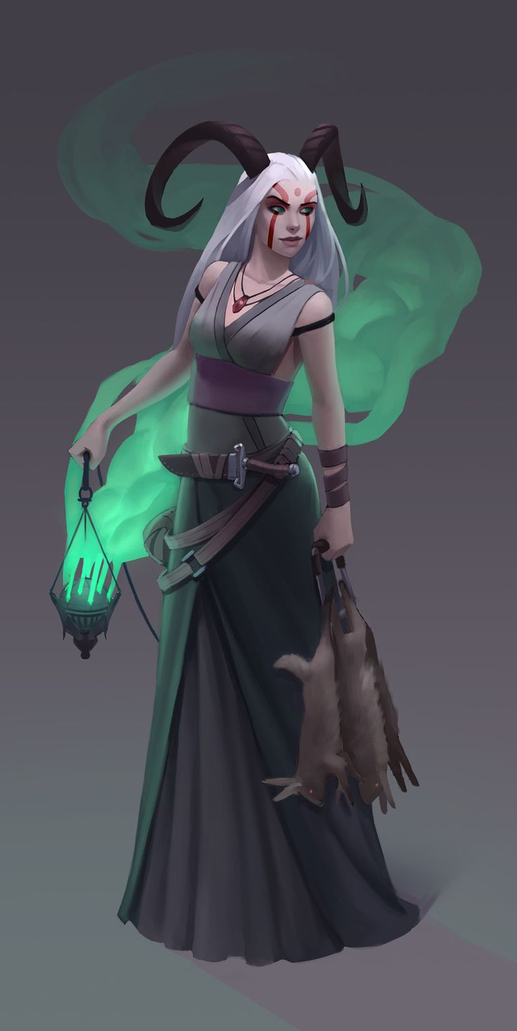 Demonic Healer, Jorge Rodrigues on ArtStation at https://www.artstation.com/artwork/XQlGy
