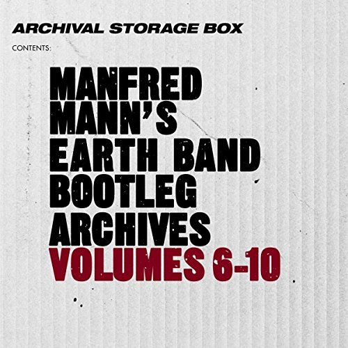 Manfred's Earth Band Mann - Bootleg Archives Volumes 6-10