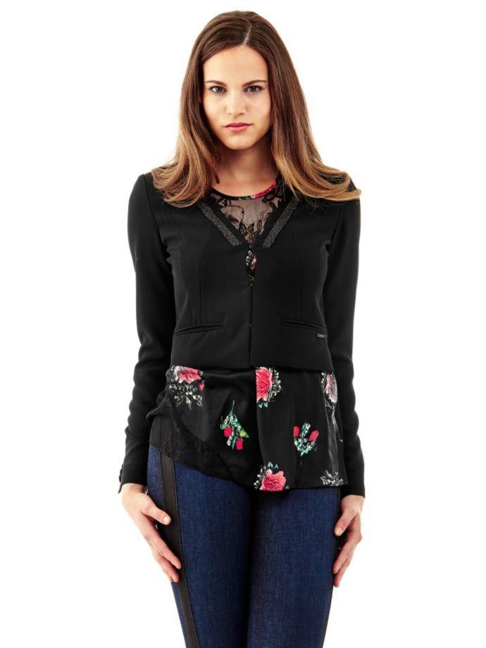 103.50EUR$  Buy now - http://viiil.justgood.pw/vig/item.php?t=d2f8esd4961 - Short Jacket, chain detail 103.50EUR$