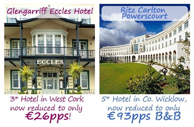 This weeks offers on Hotelsireland.com