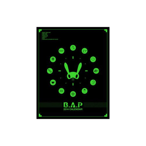 [2014 K-POP Season Greeting] B.A.P (Calendar+Scheduler+Post Card+Sticker+Poster)