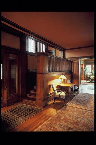 Isidore H. Heller House. Prairie Style. Frank Lloyd Wright. Hyde Park, Illinois. 1897