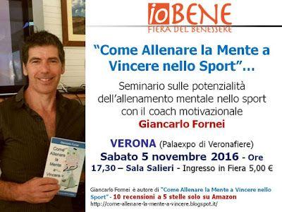 Allenamento Mentale & Motivazionale nello Sport: ALLENAMENTO MENTALE SPORT - seminario con il coach...