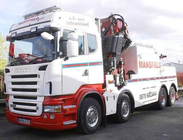 Mansfield Group Scania R620 V8 Hi-line