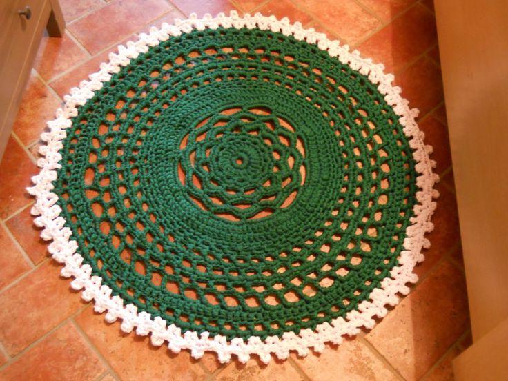 Oltre 1000 idee su tappeto centrino all'uncinetto su pinterest ...