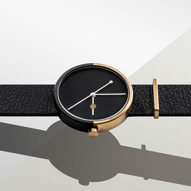 The gold and black dual tone plating on the Eclipse is inspired by night and day and the moon's movement in relation to the earth and the sun. #watch, #gadget