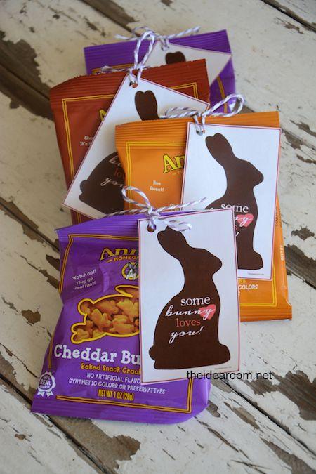 Easter Printables for Snacks #Printables #easter