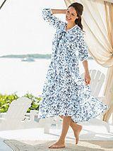 Cotton Lawn Robe | Women's Sleepwear | Appleseeds