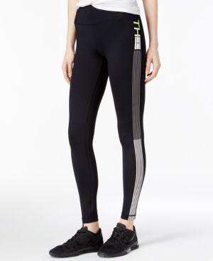 Tommy Hilfiger Sport Leggings, A Macy's Exclusive Style - Black XS