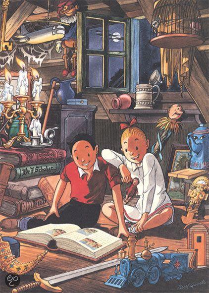 Puzzelman Puzzel - Suske en Wiske: Zolder - Legpuzzel - 99 Stukjes