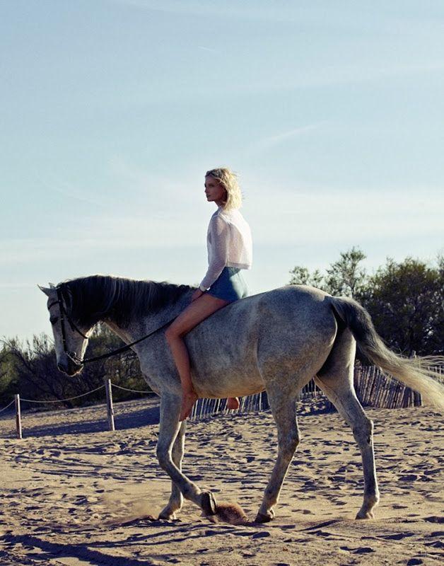 #MelissaTammerijn by #XaviGordo for #ElleRussia July 2014