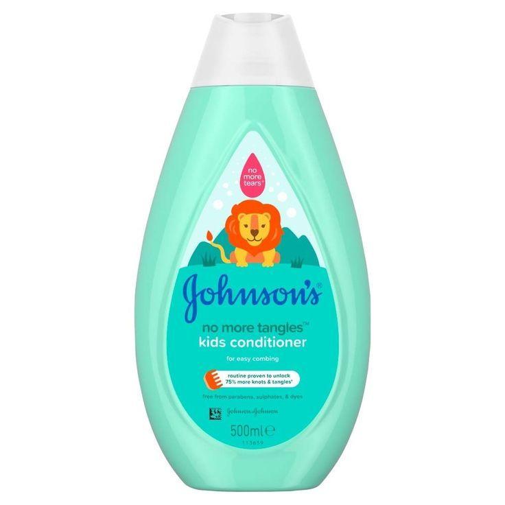 Johnsons Baby No More Tangles Kids Conditoner 500ml Kids Shampoo Johnson Shampoo Shampoo
