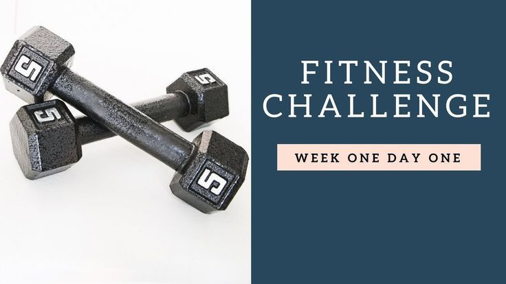 Fitness Challenge - Learn to Lift - Week One Day One