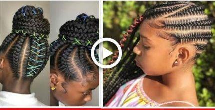 20 erstaunliche Ghana-Borten für Ihr kleines Mädchen #ghanaBraided