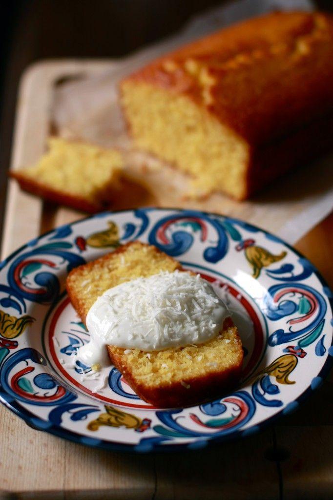Marmalade, Semolina and Coconut Cake | wanderingspice.com