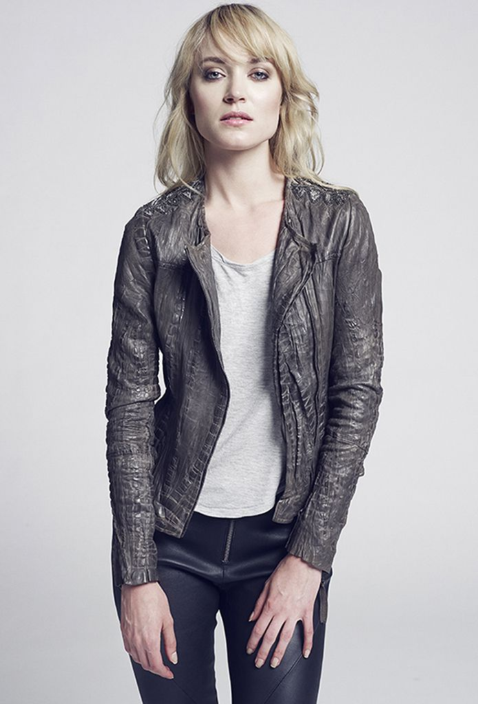 CASSIE leatherjacket  GINGER leatherpant