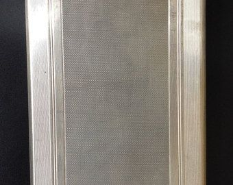 SILVER CIGARETTE CASE by KordoniArt on Etsy