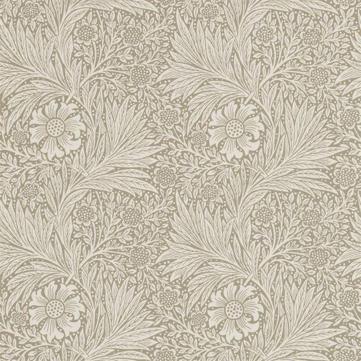 Engelska tapeter Marigold av William Morris designade år 1875