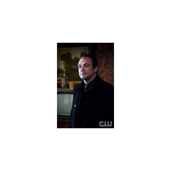 Crowley - Super-wiki ❤ liked on Polyvore featuring supernatural