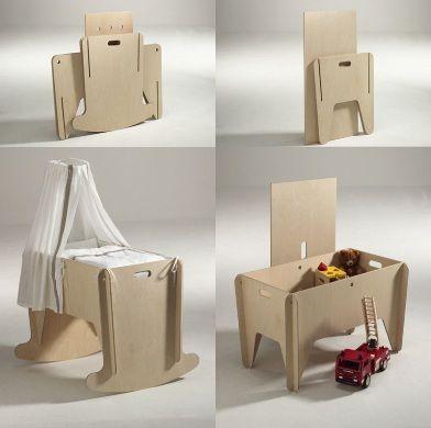 Das Moebel for Kids - Design Milk Il est super bien et très solide, maintenant il sert pour mettre toutes les poupées.....