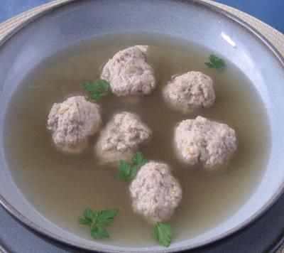 Lidia 39 S Italy Recipes Meatballs In Broth Lidia