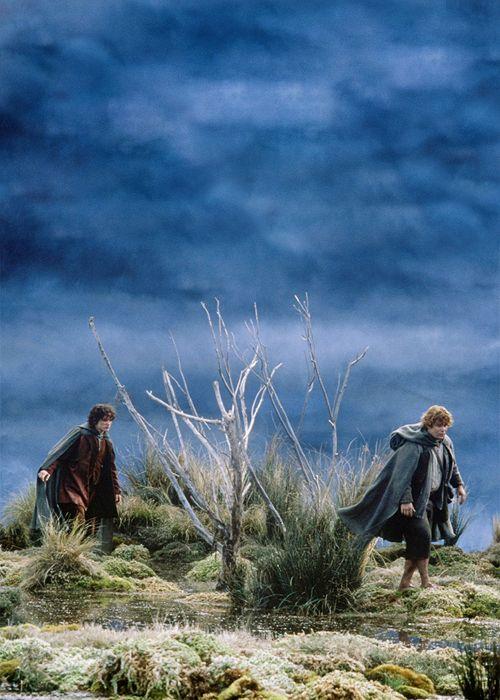 The bleak journey to Mordor