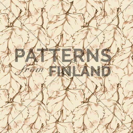 Treetop – Leafy by Ilana Vähätupa   #patternsfromagency #patternsfromfinland #pattern #patterndesign #surfacedesign #ilanavahatupa