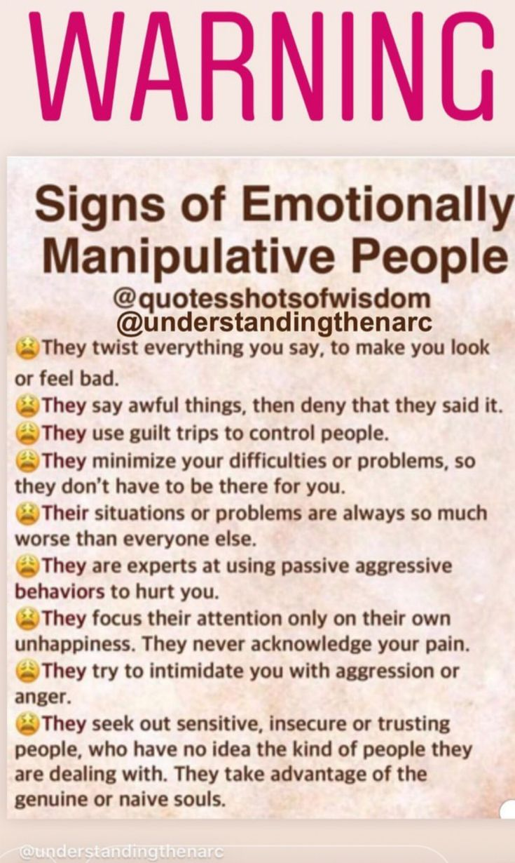 Pin by Robynborgetti on Emotionally Manipulative People