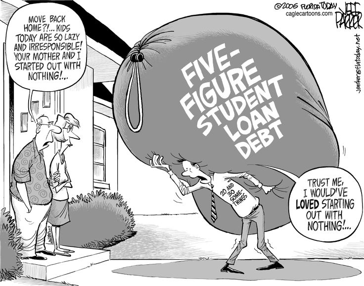 Oh student loans...