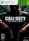 Call of Duty Black Ops Xbox 360 - GAME DISC ONLY - SHIPS IN DVD MAILER