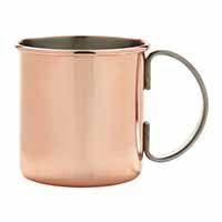 Straight Copper Mug 17.5oz