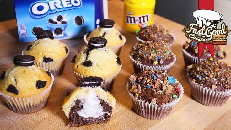 Recette Mcdo : Comment faire les muffins Oréo et M&m's