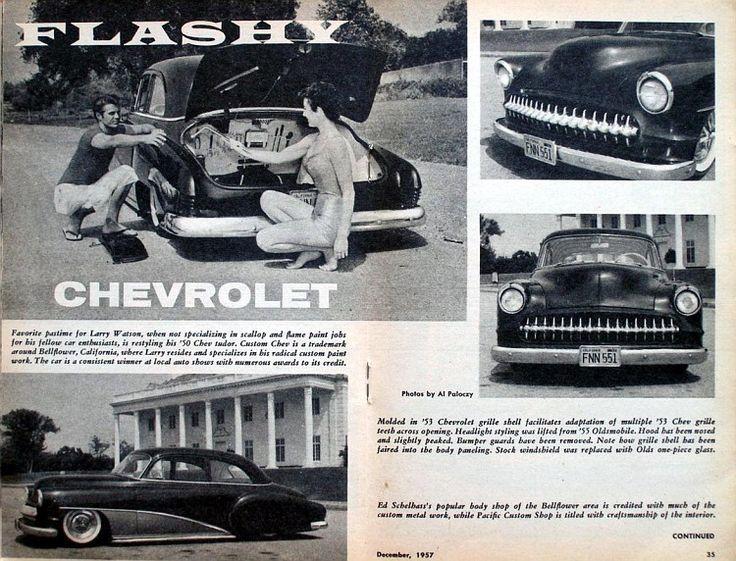 "Larry Watson ""Grapevine"" 1950 Chevy"