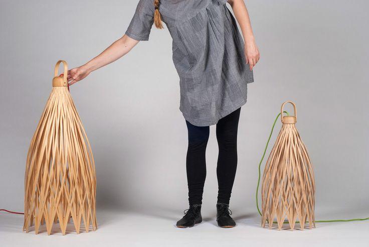 Basketlamp: Traditional Weaving Used in Versatile Lighting