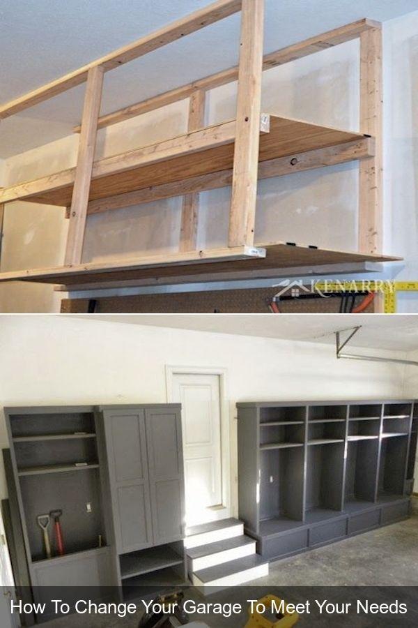 Garage Wall Decorating Ideas Garage Cabinet Design Ideas Mechanic Garage Signs In 2020 Garage Walls Cabinet Design Garage Cabinets
