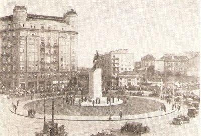 Plac Unii Lubelskiej w 1932 roku