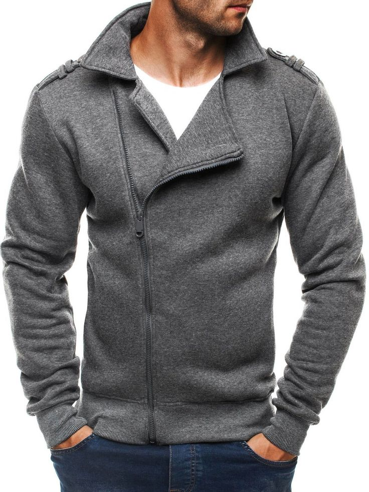 OZONEE Herren Kapuzenpullover Sweatjacke Jacke Übergangsjacke Sweatshirt OZN 008