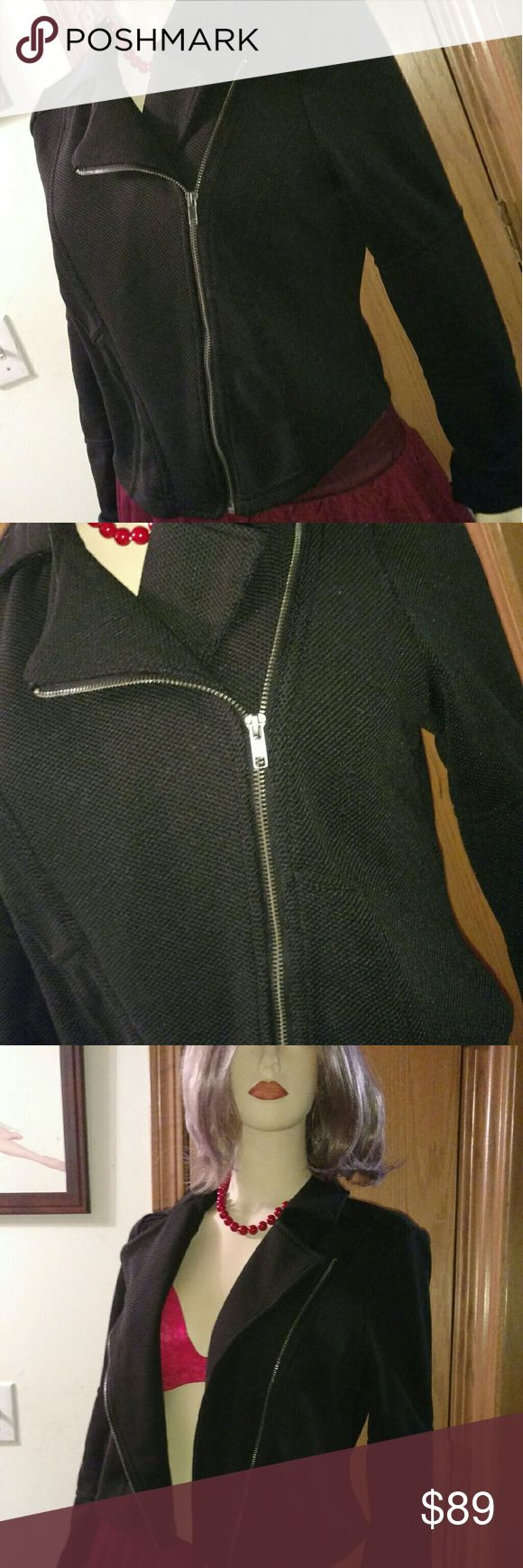 **NWT** Torrid Smart Jacket Smart and Sleek Zipper Jacket by Torrid  Perfect Addition to Any Outfit  Does Your Boss Keep the Office to Cold?  Need a Way to Look Fabulous, but Need to Stay Warm  This is the Jacket!  I got her a size too small and never had time to return  I had so many plans for this jacket  My loss, your gain  Reasonable Offers Encouraged  **Betsey Johnson Necklace Listed Separately** torrid Jackets & Coats Blazers