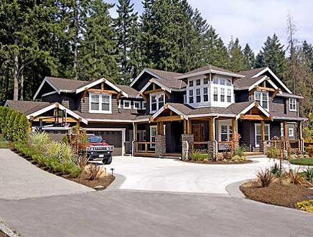 19 best images about kyle 39 s house plans on pinterest for Craftsman luxury homes