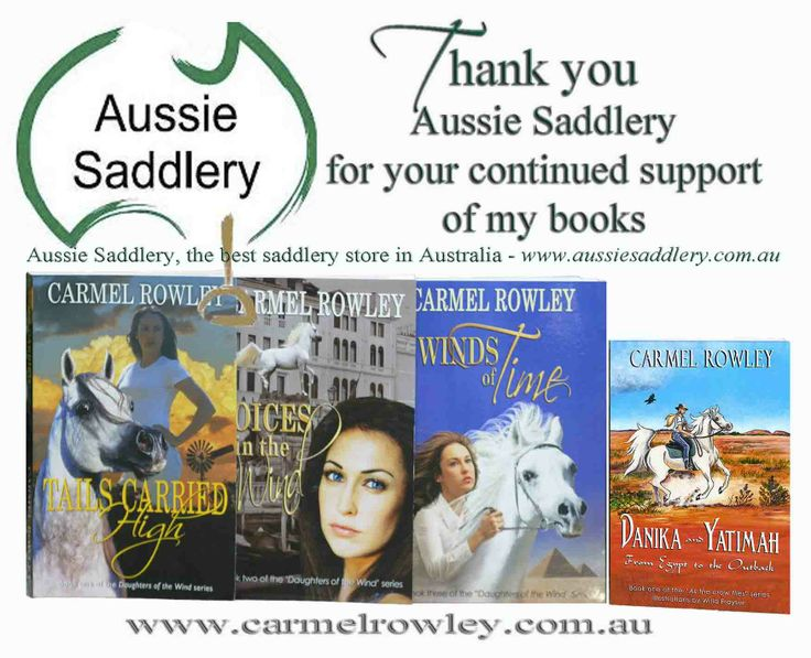 Thank you to Aussie Saddlery for your support.