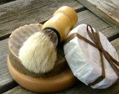 9 Shaving Sets, Groomsmen Gifts, Wedding Gifts, Gifts for HIm, Shave Kits, Boar Shave Brush
