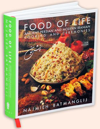 57 best best middle eastern cookbooks images on pinterest iran new food of life a book by najmieh batmanglij samples recipes of persian food from ancient persian cuisine to modern iranian cooking including the forumfinder Images